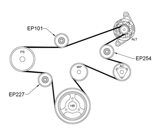 jeep wrangler turbo with Jeep Wrangler Jk 2 8 Ltr Feb 2007 2009 Turbo Diesel Dayco Belt Pulley Kit on Serpentine Belt Diagram 2011 Chevrolet Traverse V6 36 Liter Engine 00996 furthermore How To Remove Dash From 2004 Silverado likewise 2004 Kia Optima Stereo Wiring Diagram additionally 2001 Audi A4 1 8t Engine Diagram likewise 6ywdt Jeep 2006 Jeep Liberty L4 2 8l Dsl Turbo Iat Sensor Wires.
